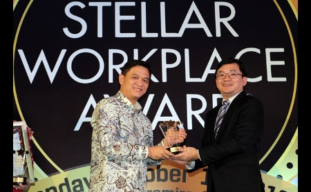 BCA Raih Best Stellar Workplace Award